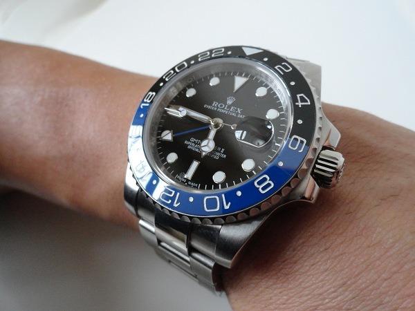Rolex GMT Master II Blue Bezel Replica Watch