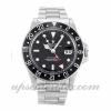 Uomo Rolex Gmt Master 16750 cassa 40 mm Movimento automatico quadrante nero