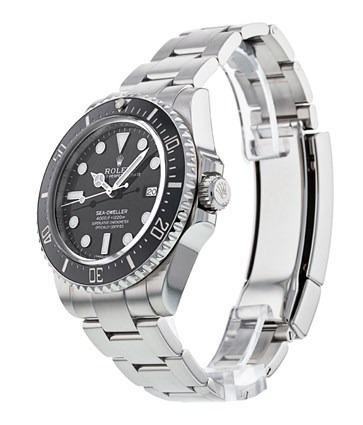 Rolex Sea-Dweller 116600 Orologio da uomo in acciaio da 40 mm nero